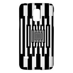 Black Stripes Endless Window Galaxy S5 Mini