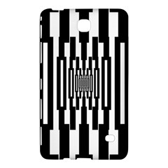 Black Stripes Endless Window Samsung Galaxy Tab 4 (7 ) Hardshell Case  by designworld65