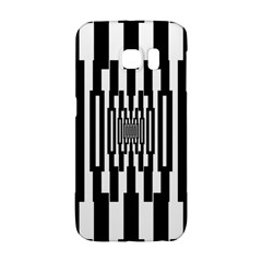 Black Stripes Endless Window Galaxy S6 Edge