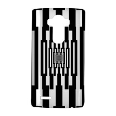 Black Stripes Endless Window Lg G4 Hardshell Case by designworld65