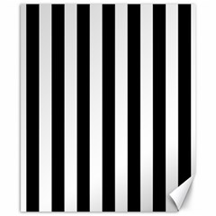 Black And White Stripes Canvas 8  X 10