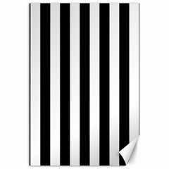 Black And White Stripes Canvas 20  X 30
