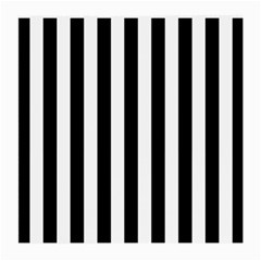 Black And White Stripes Medium Glasses Cloth (2 Side) by designworld65