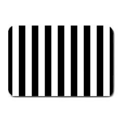 Black And White Stripes Plate Mats