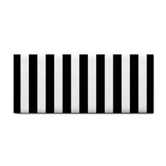 Black And White Stripes Cosmetic Storage Cases by designworld65