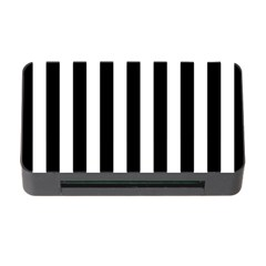 Black And White Stripes Memory Card Reader With Cf