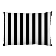 Black And White Stripes Pillow Case (two Sides)