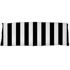 Black And White Stripes Body Pillow Case Dakimakura (two Sides) by designworld65