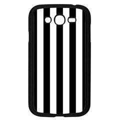 Black And White Stripes Samsung Galaxy Grand Duos I9082 Case (black) by designworld65