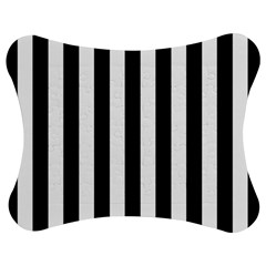 Black And White Stripes Jigsaw Puzzle Photo Stand (bow)