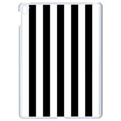 Black And White Stripes Apple Ipad Pro 9 7   White Seamless Case by designworld65
