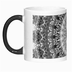 Feeling Softly Black White Mandala Morph Mugs