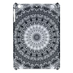 Feeling Softly Black White Mandala Apple Ipad Mini Hardshell Case by designworld65