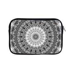 Feeling Softly Black White Mandala Apple Ipad Mini Zipper Cases by designworld65