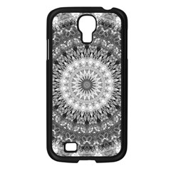 Feeling Softly Black White Mandala Samsung Galaxy S4 I9500/ I9505 Case (black) by designworld65