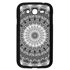 Feeling Softly Black White Mandala Samsung Galaxy Grand Duos I9082 Case (black) by designworld65