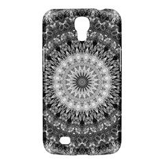 Feeling Softly Black White Mandala Samsung Galaxy Mega 6 3  I9200 Hardshell Case by designworld65