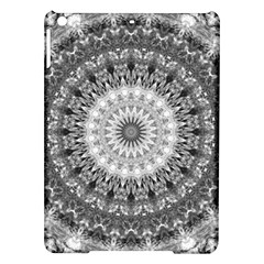 Feeling Softly Black White Mandala Ipad Air Hardshell Cases by designworld65