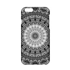 Feeling Softly Black White Mandala Apple Iphone 6/6s Hardshell Case by designworld65