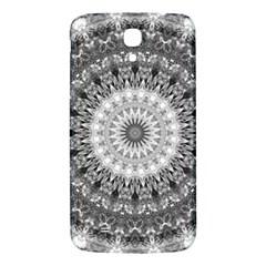 Feeling Softly Black White Mandala Samsung Galaxy Mega I9200 Hardshell Back Case by designworld65