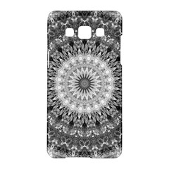 Feeling Softly Black White Mandala Samsung Galaxy A5 Hardshell Case  by designworld65
