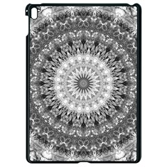 Feeling Softly Black White Mandala Apple Ipad Pro 9 7   Black Seamless Case by designworld65