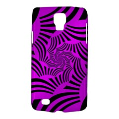 Black Spral Stripes Pink Galaxy S4 Active by designworld65