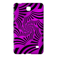 Black Spral Stripes Pink Samsung Galaxy Tab 4 (7 ) Hardshell Case