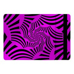 Black Spral Stripes Pink Apple Ipad Pro 10 5   Flip Case by designworld65