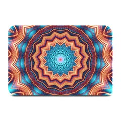 Blue Feather Mandala Plate Mats