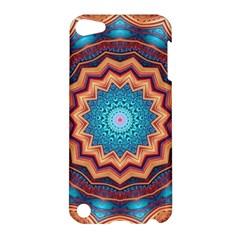 Blue Feather Mandala Apple Ipod Touch 5 Hardshell Case