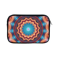 Blue Feather Mandala Apple Ipad Mini Zipper Cases by designworld65