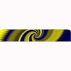 Blue Gold Dragon Spiral Small Bar Mats