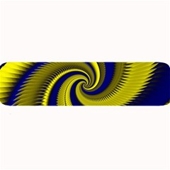 Blue Gold Dragon Spiral Large Bar Mats