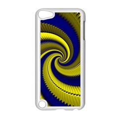 Blue Gold Dragon Spiral Apple Ipod Touch 5 Case (white) by designworld65