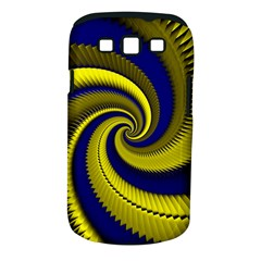 Blue Gold Dragon Spiral Samsung Galaxy S Iii Classic Hardshell Case (pc+silicone) by designworld65