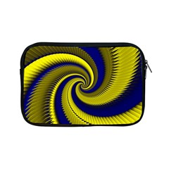 Blue Gold Dragon Spiral Apple Ipad Mini Zipper Cases by designworld65