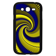 Blue Gold Dragon Spiral Samsung Galaxy Grand Duos I9082 Case (black) by designworld65