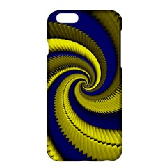 Blue Gold Dragon Spiral Apple Iphone 6 Plus/6s Plus Hardshell Case by designworld65