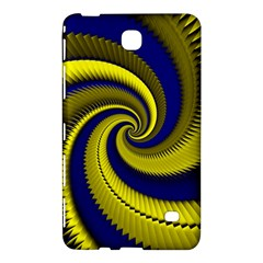 Blue Gold Dragon Spiral Samsung Galaxy Tab 4 (7 ) Hardshell Case  by designworld65