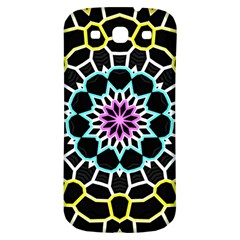 Colored Window Mandala Samsung Galaxy S3 S Iii Classic Hardshell Back Case by designworld65