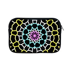 Colored Window Mandala Apple Ipad Mini Zipper Cases by designworld65