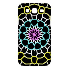 Colored Window Mandala Samsung Galaxy Mega 5 8 I9152 Hardshell Case  by designworld65