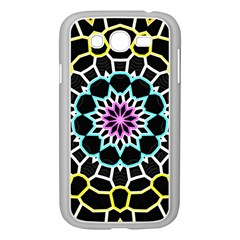 Colored Window Mandala Samsung Galaxy Grand Duos I9082 Case (white) by designworld65