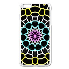 Colored Window Mandala Apple Iphone 6 Plus/6s Plus Enamel White Case by designworld65