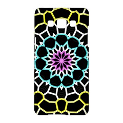 Colored Window Mandala Samsung Galaxy A5 Hardshell Case  by designworld65