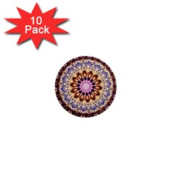 Dreamy Mandala 1  Mini Magnet (10 Pack)  by designworld65