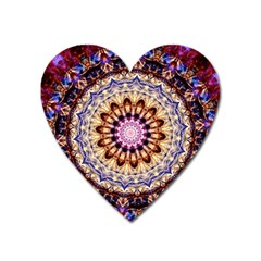 Dreamy Mandala Heart Magnet by designworld65
