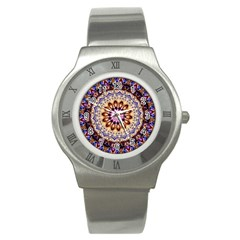 Dreamy Mandala Stainless Steel Watch by designworld65