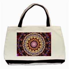 Dreamy Mandala Basic Tote Bag by designworld65